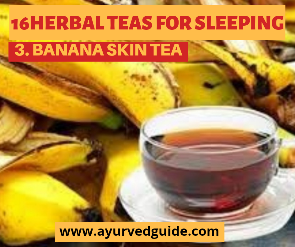 Herbal Teas For Sleeping