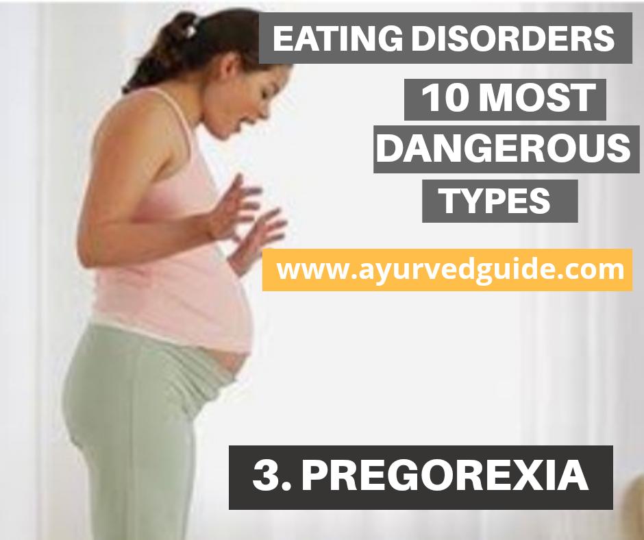 Eating disorders -Pregorexia