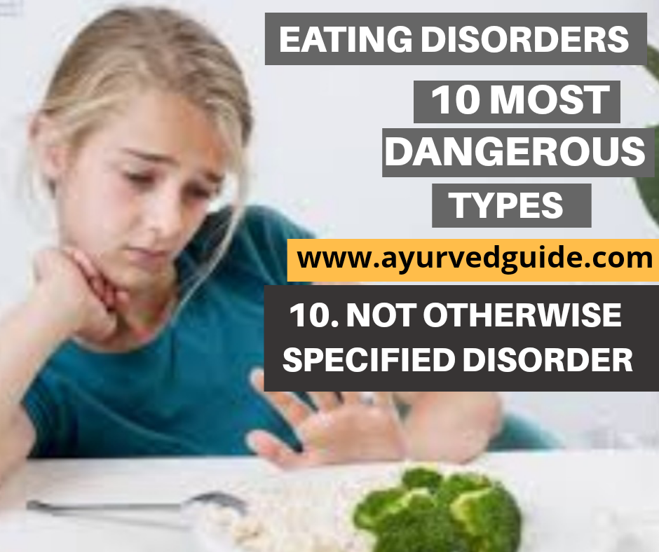 Eating Disorder-Not Otherwise Specified