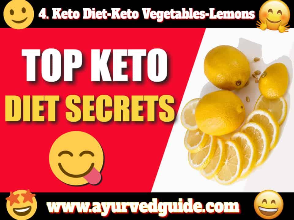 Keto Diet-Keto Vegetables-Lemons