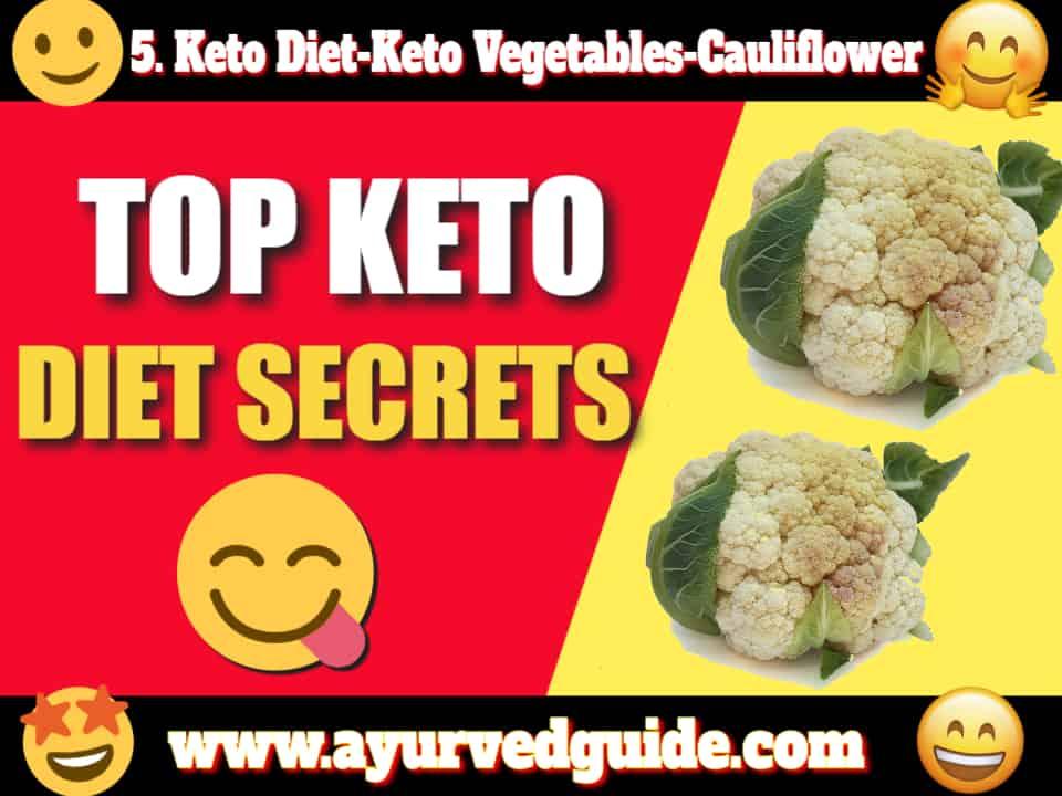 Keto Diet-Keto Vegetables-Cauliflower