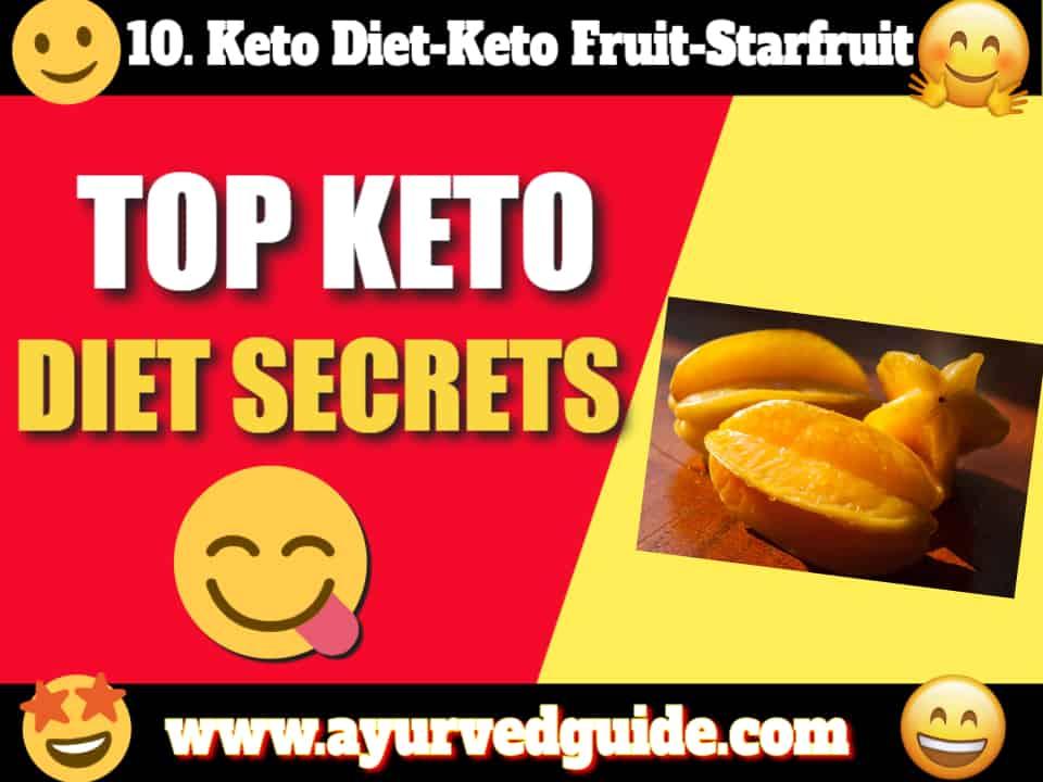 Keto Diet-Keto Fruit-Starfruit