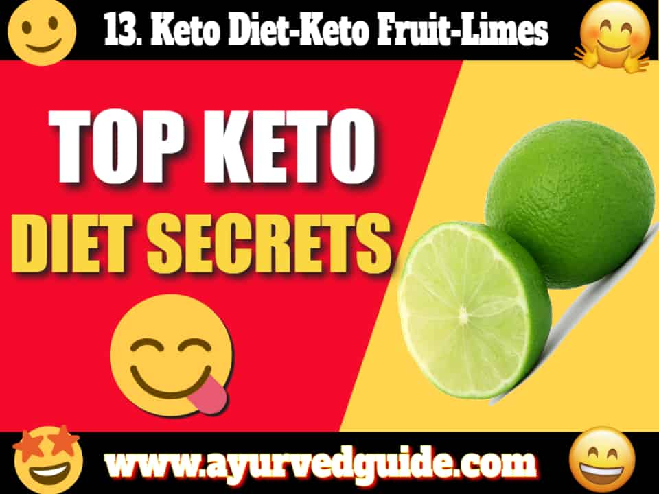 Keto Diet-Keto Fruit-Limes
